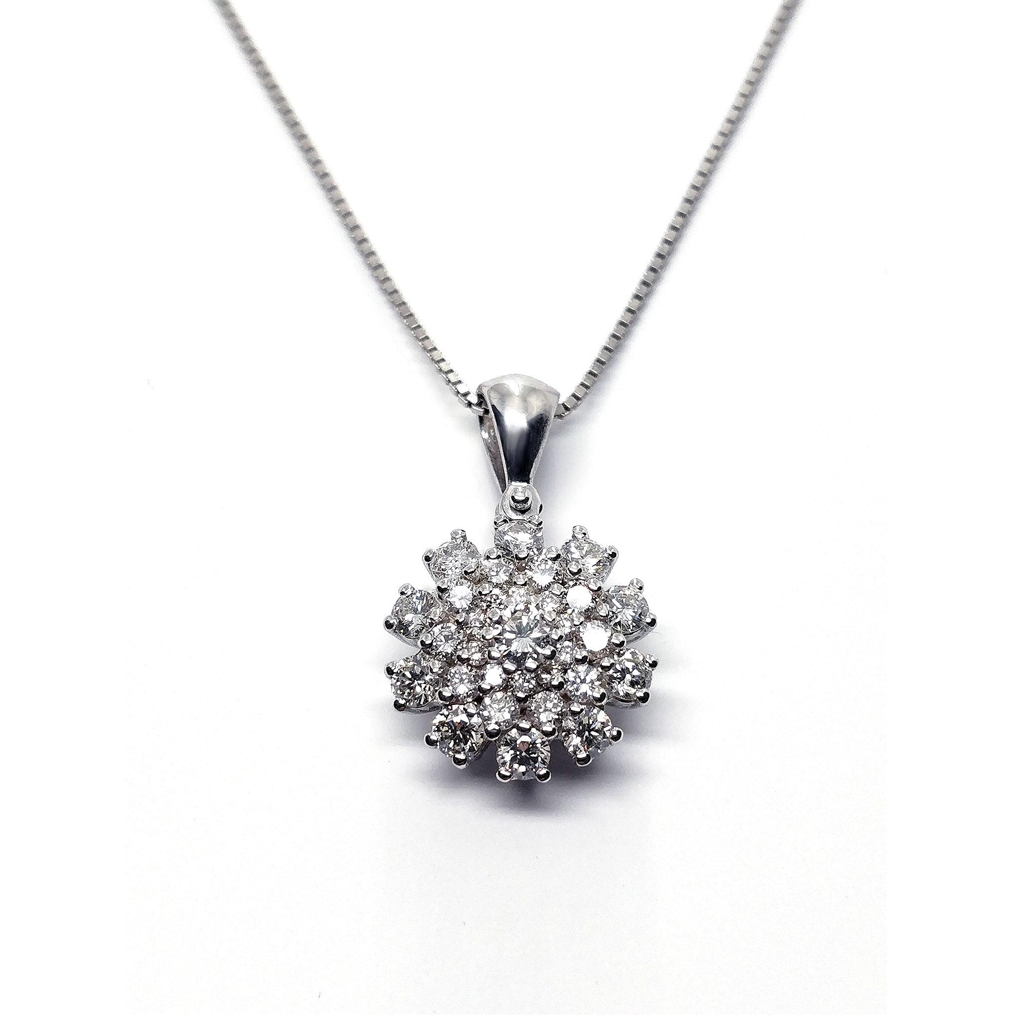 Pendente con Diamanti CT 0.70