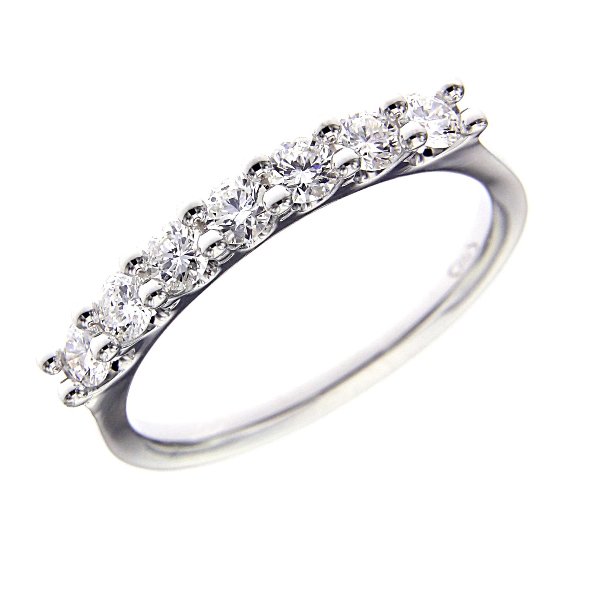 Anello Veretta con Diamanti